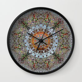 Worship With Intent Of Madeleine Wall Clock