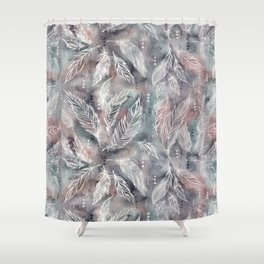 Mojave Feathers Shower Curtain