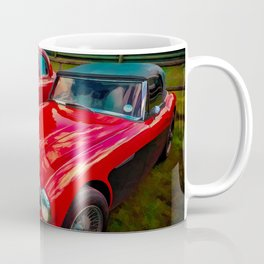 Austin Healey British Sports Car Coffee Mug