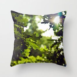 Dreamy forest - Landscape Photography #society6 Throw Pillow