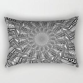 """Experimentalism #b"" by Brock Springstead Rectangular Pillow"