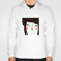 geisha Hoodies featuring Geisha by Alfonnew Shop