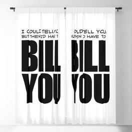 Bill You Blackout Curtain