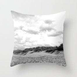 On the beach of California Part II. Throw Pillow