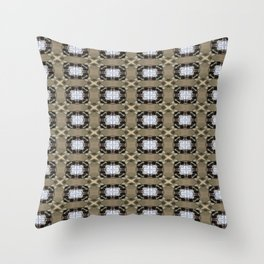 Burnished Neurotic Throw Pillow
