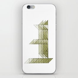 Congruence of Triangles in Light Green iPhone Skin