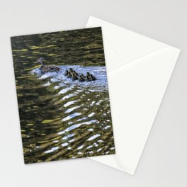 Ten Little Mallards and Mama Stationery Cards