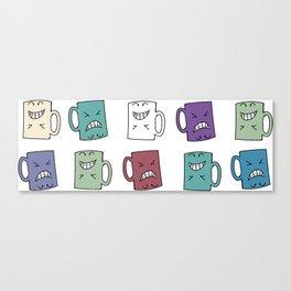 Yes Coffee - No Coffee Canvas Print