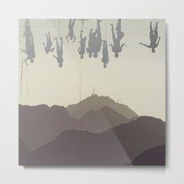 well hung Metal Print