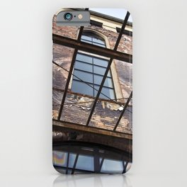 OLD FACTORY BUILDING iPhone Case