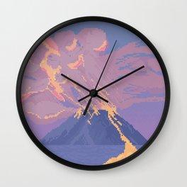 Erupt Wall Clock