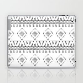 Gray Boho Aztec Laptop & iPad Skin