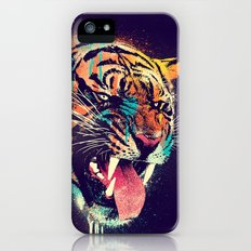 FEROCIOUS TIGER iPhone (5, 5s) Slim Case