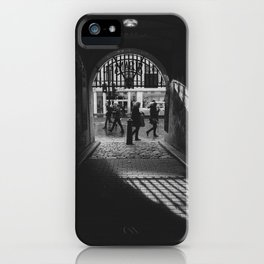 Light at the end of the tunnel. iPhone Case