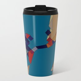 onBlue Metal Travel Mug