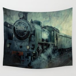 Steam Engine 1009 Wall Tapestry