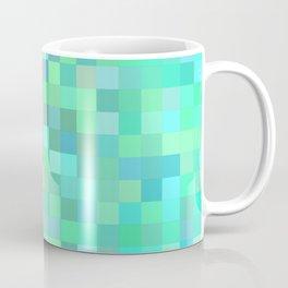 Square mosaic tiles Coffee Mug