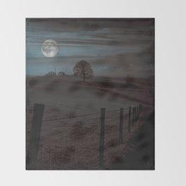 Moon Tor Throw Blanket