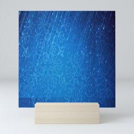 Rain And Snowflakes Mini Art Print