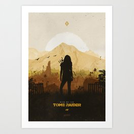 Rise of the Tomb Raider Art Print