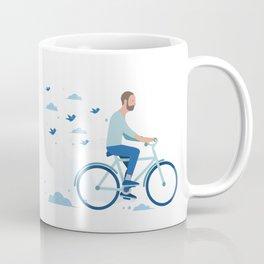 bird man bike Coffee Mug