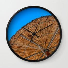 Beach Sun Wall Clock