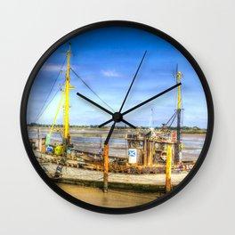 "Heybridge Basin Boat "" The Ranger "" Wall Clock"