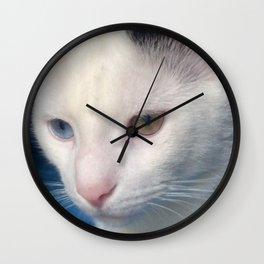 Notch is Watching Wall Clock