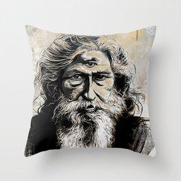Ajna Third Eye Throw Pillow