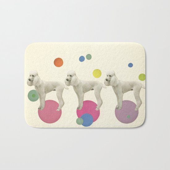 Oodles of Poodles Bath Mat