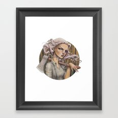 Ex Framed Art Print