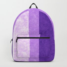 Retro Vintage Lilac Grunge Stripes Backpack
