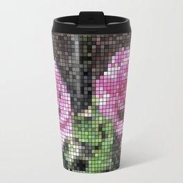 Rosas Moradas 1 Mosaic Travel Mug