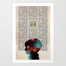 Art That Helps Collaboration Print Art Print