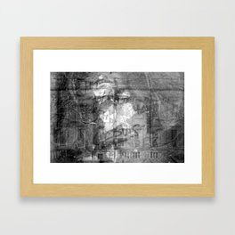 The Way That She Glows Framed Art Print