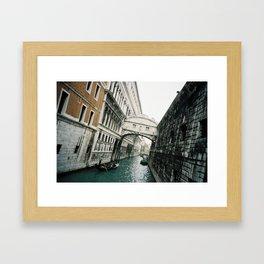 Venice Remember Framed Art Print