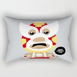 Let's Rassle Rectangular Pillow