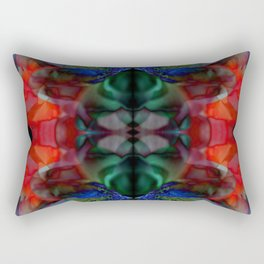The Passion of Flowers Rectangular Pillow