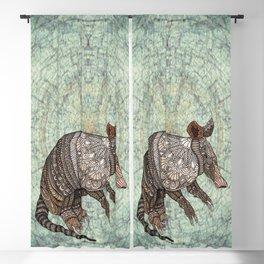 Ornate Armadillo Blackout Curtain