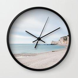 Étretat Wall Clock
