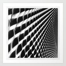 Waves of Iron Art Print