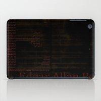 edgar allan poe iPad Cases featuring Edgar Allan Poe by Sarah Emch