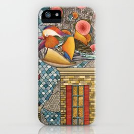 Rooftop Encounter iPhone Case