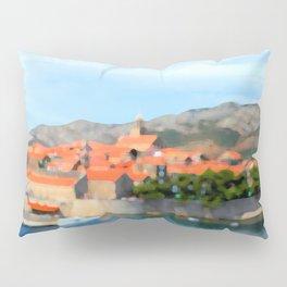 Croatia Inlet Pillow Sham