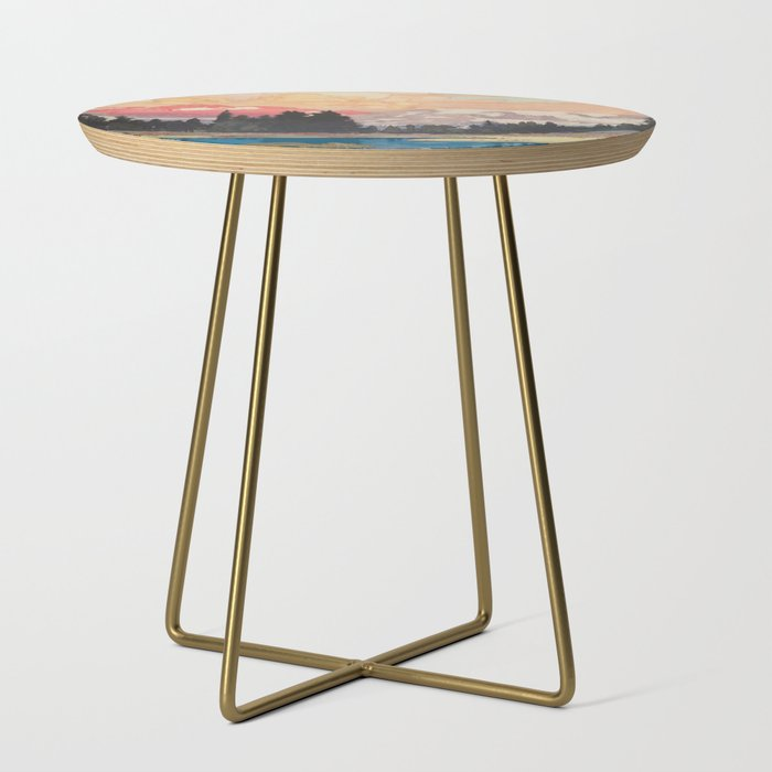 Storms_over_Keiisino_Side_Table_by_Kijiermono__Gold__Round