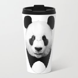 Panda Art Travel Mug