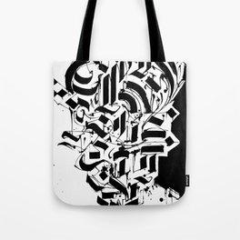 CALLIGRAPHY N°3 ZV Tote Bag
