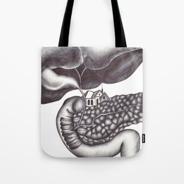 Ampulla of Vater and Sphincter of Oddi Interlude Tote Bag
