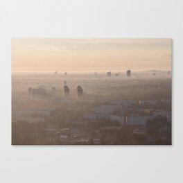 metropolis awakes Canvas Print