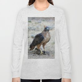 Red Tailed Hawk Catch Long Sleeve T-shirt